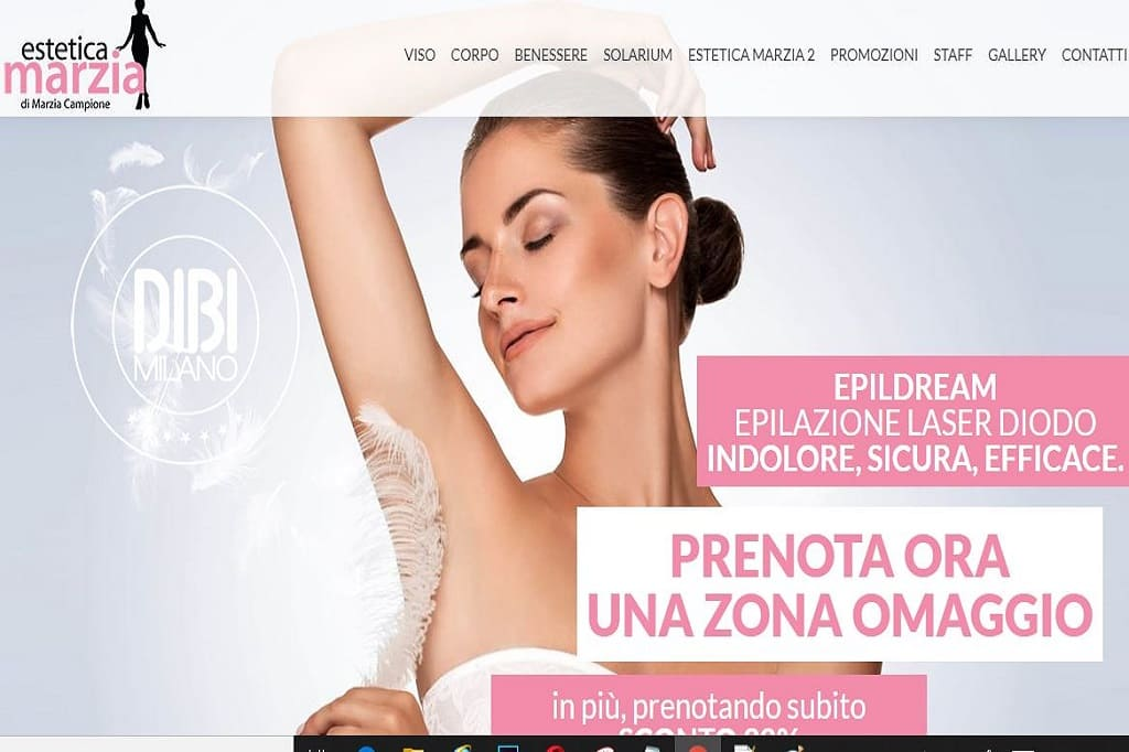 Read more about the article Realizzazione sito web per il centro estetico