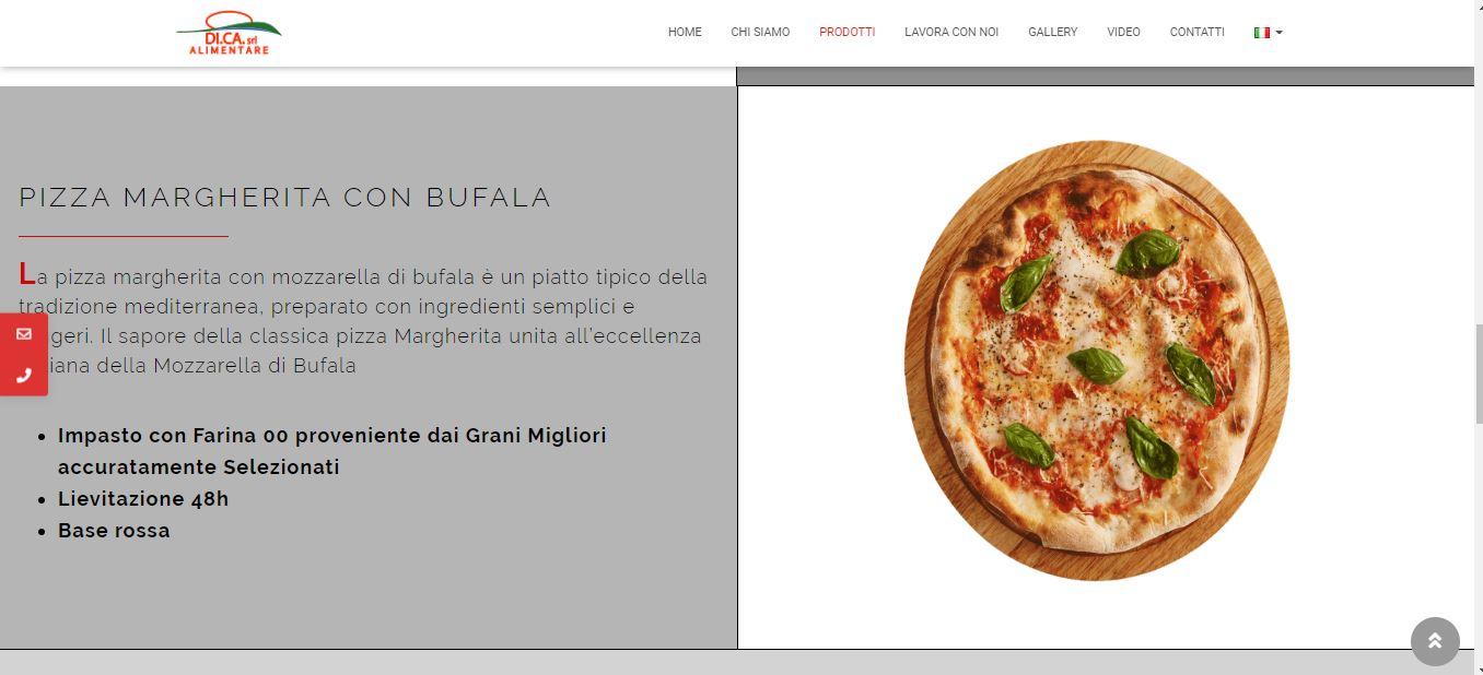 WEB AGENCY ROMA PER REALIZZAZIONE SITI INTERNET ROMA PER FABBRICA PIZZE