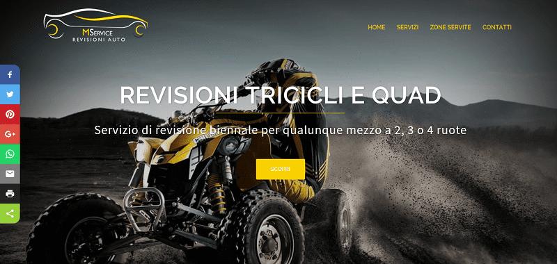 CREAZIONE SITI WEB ROMA PER CENTRI REVISIONI