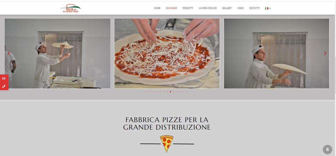 WEB AGENCY ROMA PER CREAZIONE SITI INTERNET ROMA PER FABBRICA PIZZE ROMA