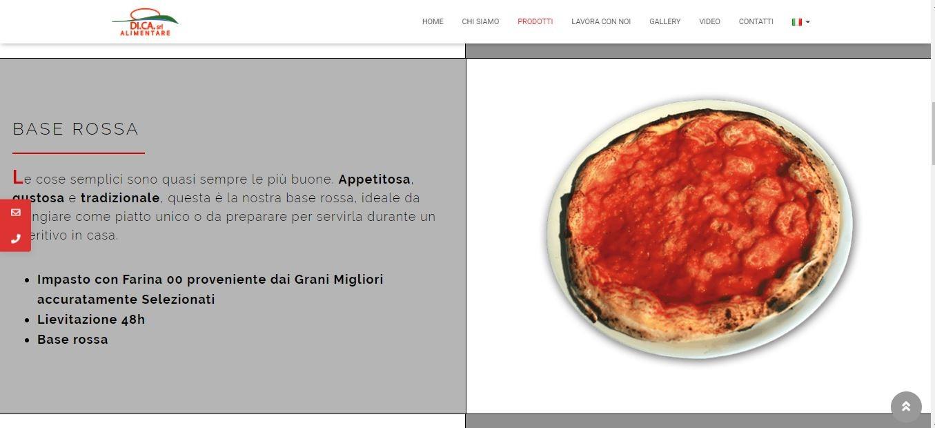 AGENZIA WEB PER SVILUPPO SITI WEB ROMA PER FABBRICA PIZZE ROMA