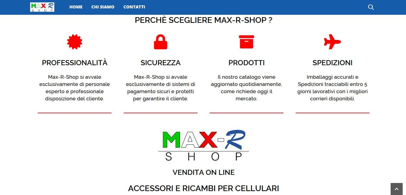 Realizzazione Sito Internet E-commerce per vendita accessori telefonia