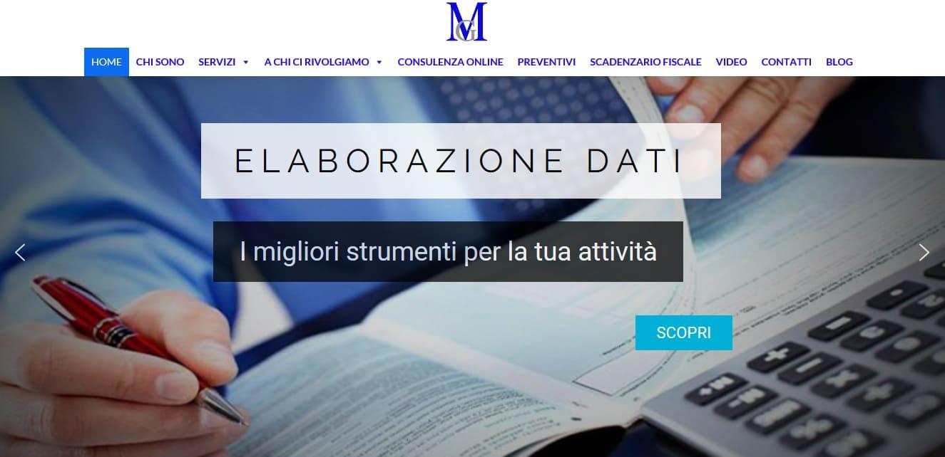 CREAZIONE SITI WEB ROMA PER COMMERCIALISTI ROMA