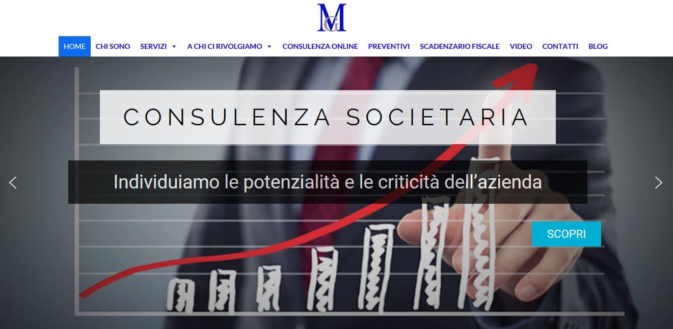 REALIZZAZIONE SITI WEB ROMA PER COMMERCIALISTI ROMA