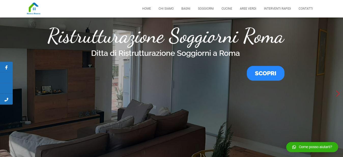 Creazione Sito Web per Ditta Ristrutturazioni a Roma