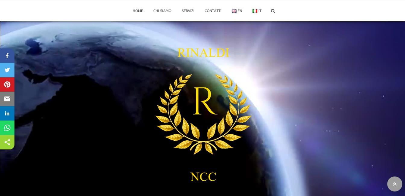 REALIZZAZIONE SITI WEB PER NCC ROMA