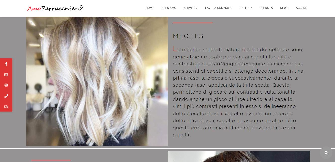 WEB AGENCY A ROMA PER SVILUPPO SITI INTERNET PARRUCCHIERI A ROMA
