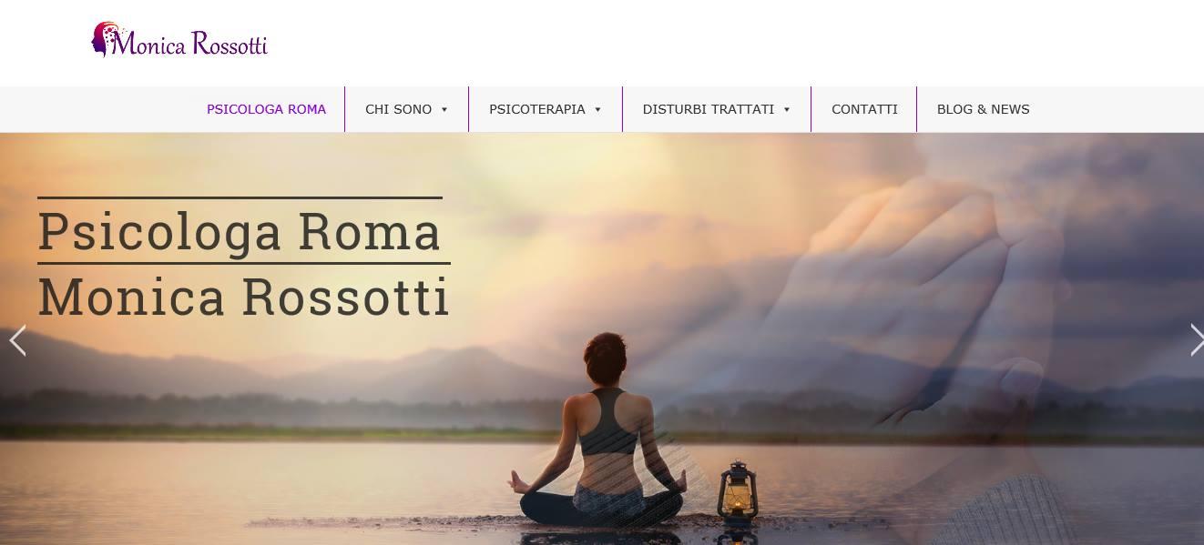 SVILUPPO SITI INTERNET ROMA PER PSICOLOGA ROMA