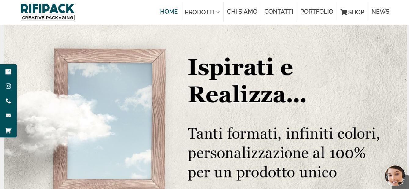 Creazione Siti E-commerce Roma per Industrie Shopper Personalizzate