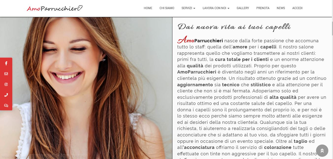 WEB AGENCY A ROMA PER SVILUPPO SITI WEB PER PARRUCCHIERI A ROMA