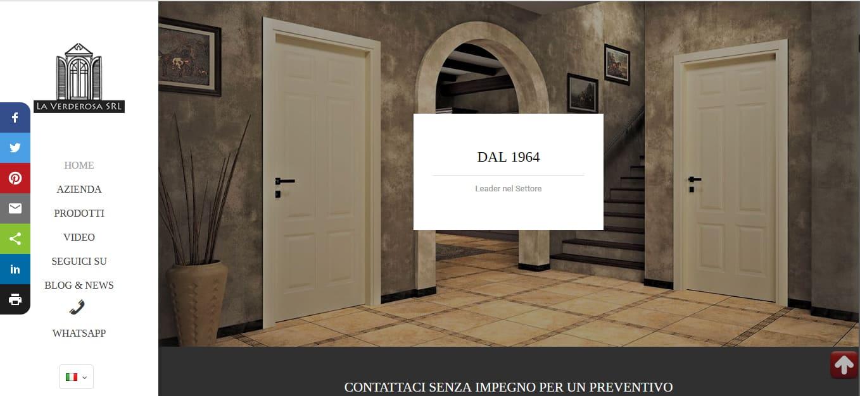 Creazione Siti web Roma per Arredamenti in Legno