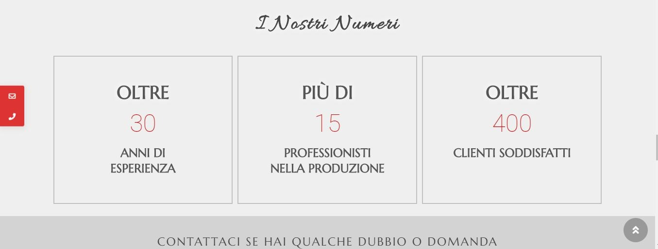 CREAZIONE SITI WEB ROMA PER FABBRICA PIZZE