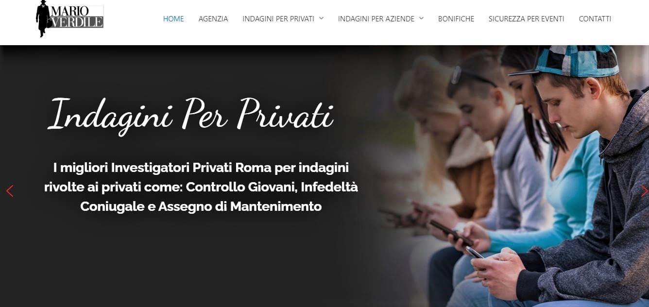 WEB AGENCY ROMA PER AGENZIA INVESTIGATIVA ROMA