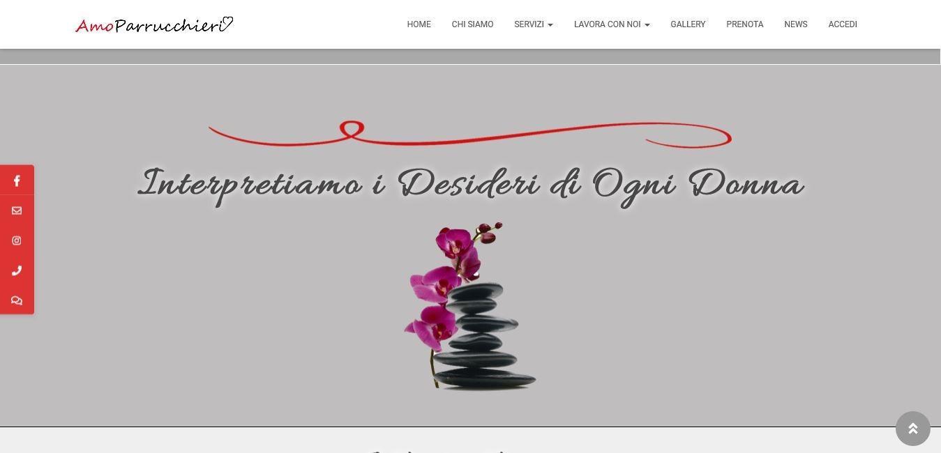 REALIZZAZIONE SITI WEB PER PARRUCCHIERI A ROMA