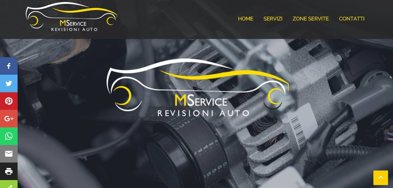 REALIZZAZIONE SITI WEB ROMA PER CENTRI REVISIONI AUTO