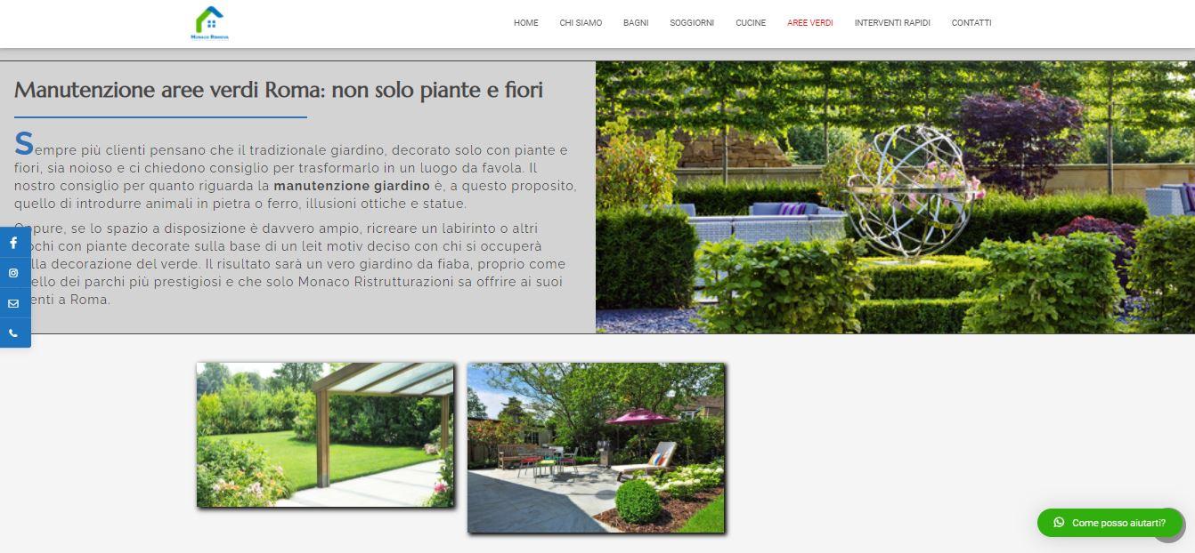 Agenzia Web Roma per Realizzazione Sito Internet per Ditta Ristrutturazioni