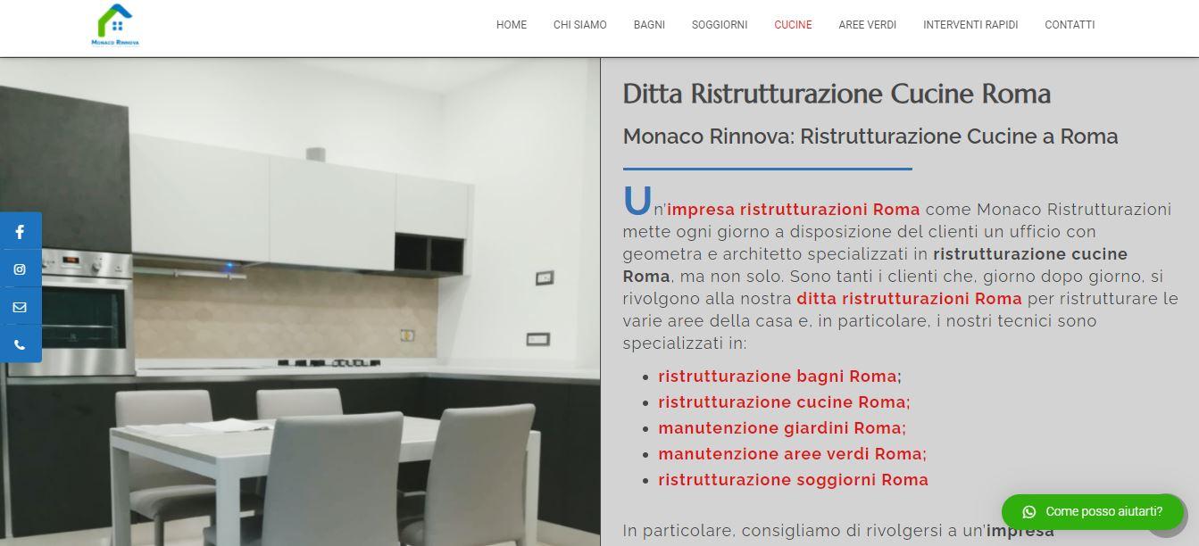 Web Agency a Roma per Realizzazione Sito Internet per Ditta Ristrutturazioni