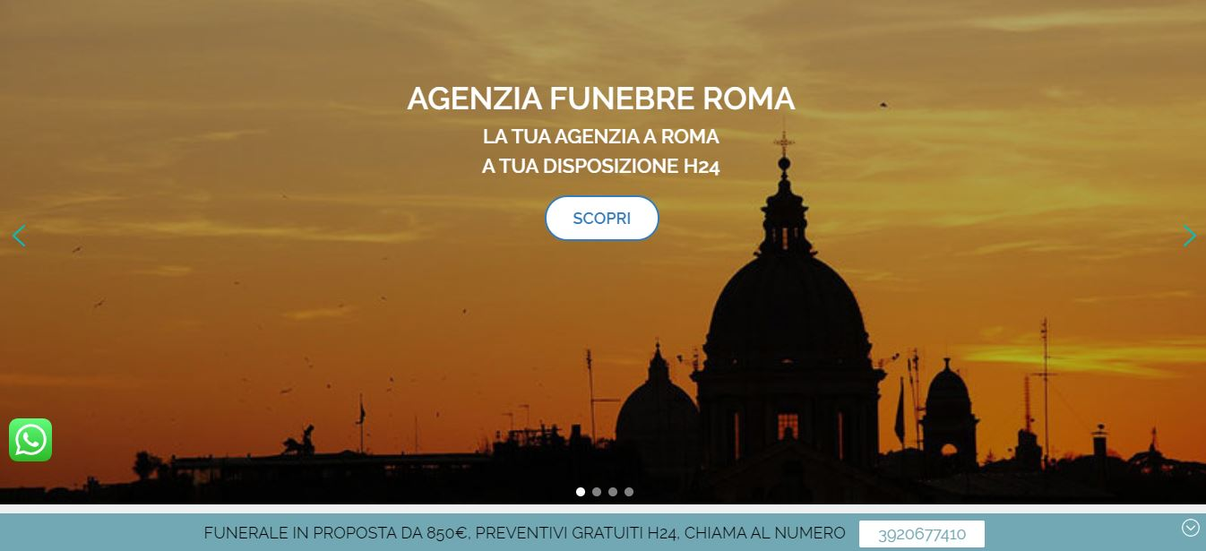 Read more about the article AGENZIA FUNEBRE ROMA
