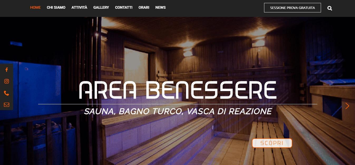 Creazione Sito Web Roma per Palestra a Roma