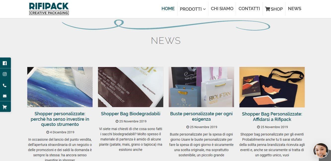 Agenzia Web Roma per Realizzazione siti Internet E-commerce
