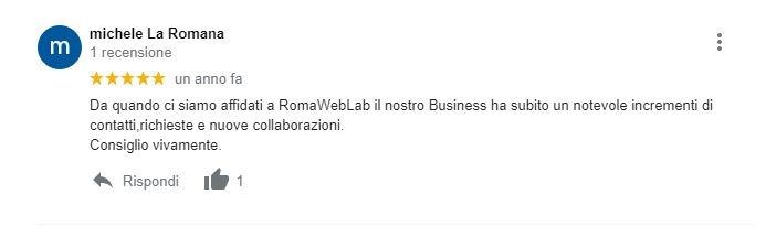 Realizzazione Siti Web Roma Recensione Sito Ditta Pulizie