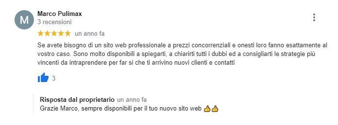 Web Agency Roma Recensione Sito Ditta Pulizie