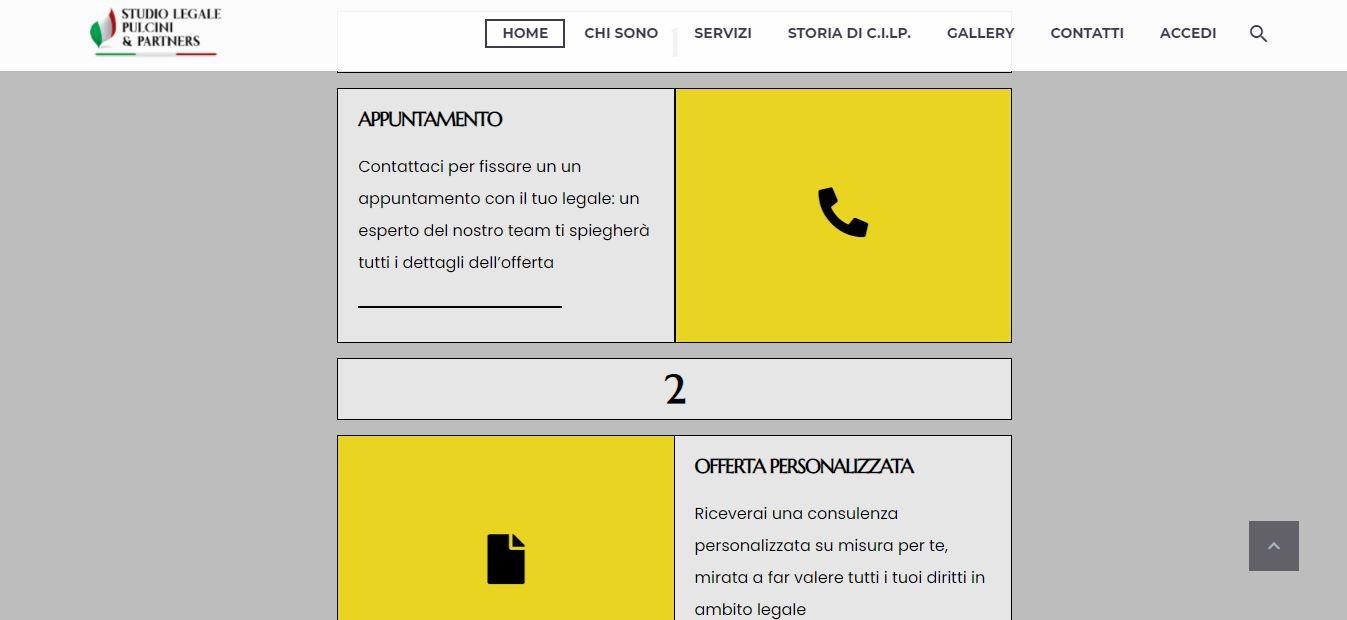 SVILUPPO SITI WEB ROMA PER STUDI LEGALI