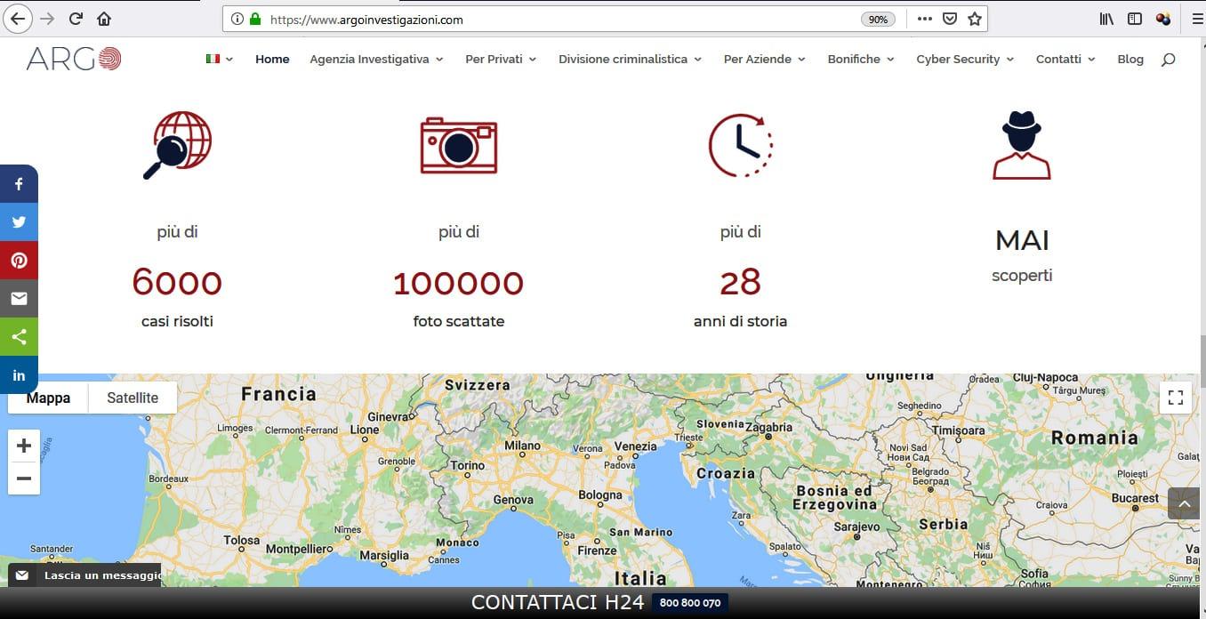 AGENZIA WEB ROMA PER AGENZIE INVESTIGATIVE