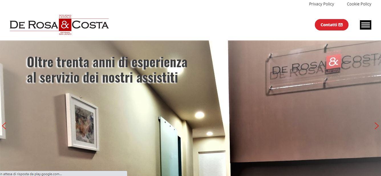 AGENZIA WEB A ROMA PER STUDI LEGALI A ROMA E MILANO
