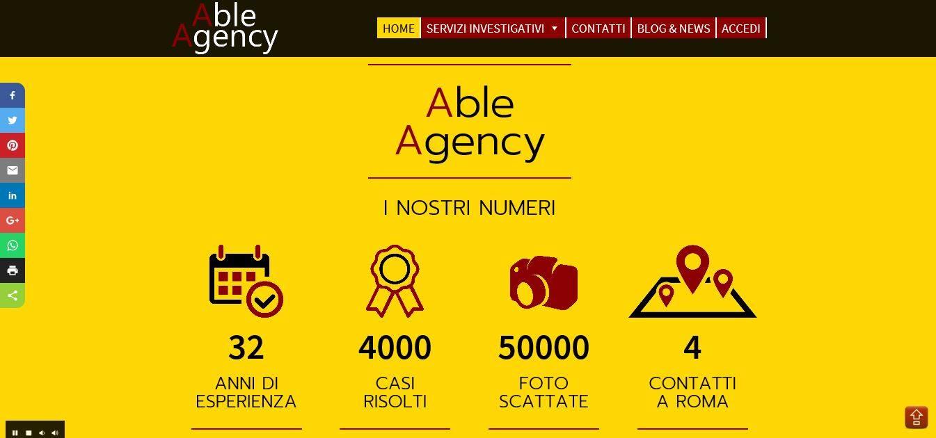 AGENZIA WEB ROMA PER INVESTIGATORE PRIVATO