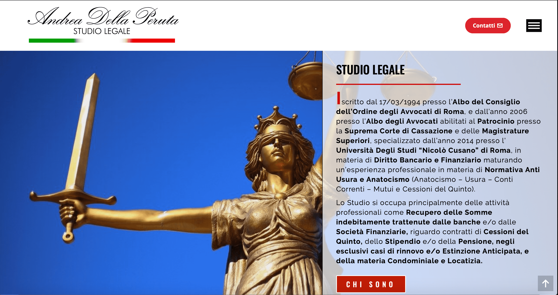 CREAZIONE SITI INTERNET PER STUDI LEGALI ROMA