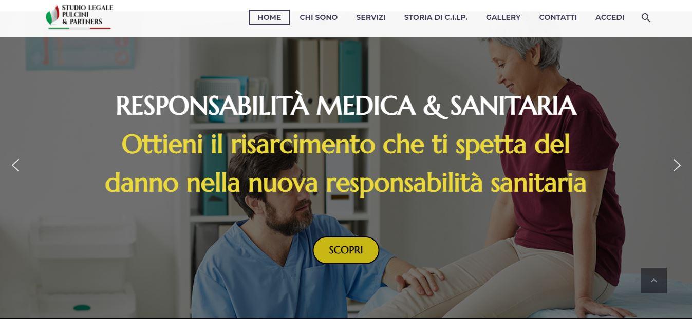 REALIZZAZIONE SITI WEB ROMA PER STUDI LEGALI